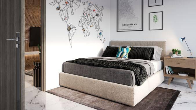 Anwa Residence Tipe 1 Bedroom